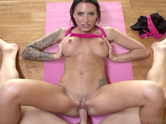 Nude yoga sex teacher and his hot students