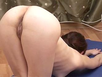 Homemade naked yoga video