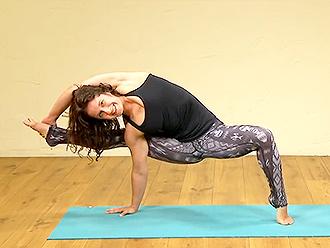 Sexy yoga guru