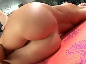 Hot flexible milf takes nude yoga lesson from her young trainer
