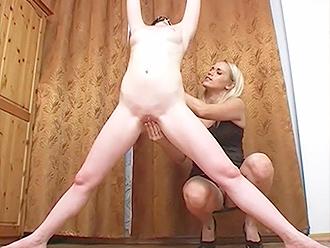 Hot lesbian yoga exercises