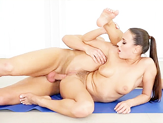 Nude yoga anal porn video