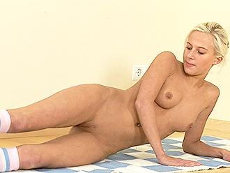 Naked yoga vids