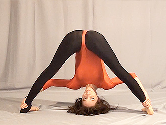 Erotic hot yoga video