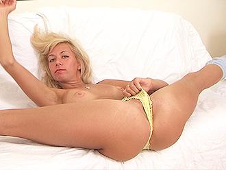 Topless nude yoga amateur girl