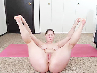 Naked yoga webcam erotica