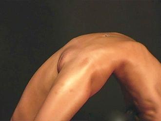 Naked aerobics video