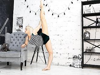 Sexy gymnast Karina