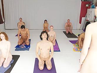Nude yoga class erotic philosophy