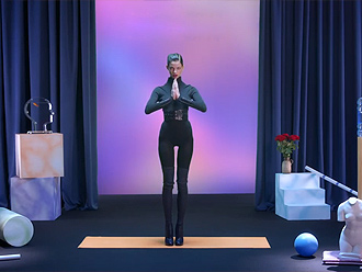 Sexy yoga video