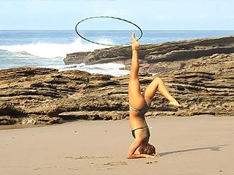 Hot yoga girl