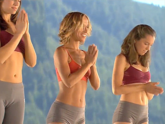 Sexy yoga girls