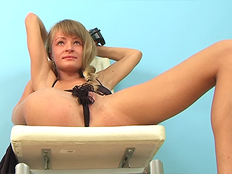 Sexy naked yoga