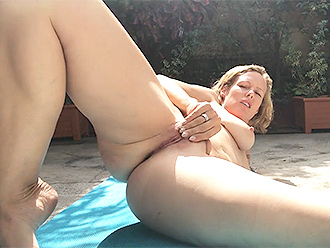 Outdoor nude yoga webcam porn video
