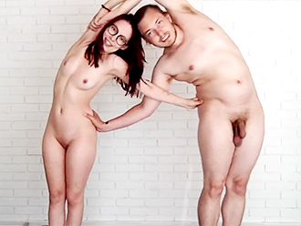 Nude yoga tutorial