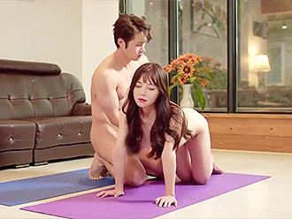 Korean naked yoga sex fantasies